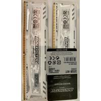 32GB KIT 4x8GB DDR4-2666 Ballistix  BLS4K8G4D26BFSCK  weiß